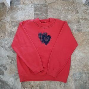 Tops - Womans Crew Sweatshirt